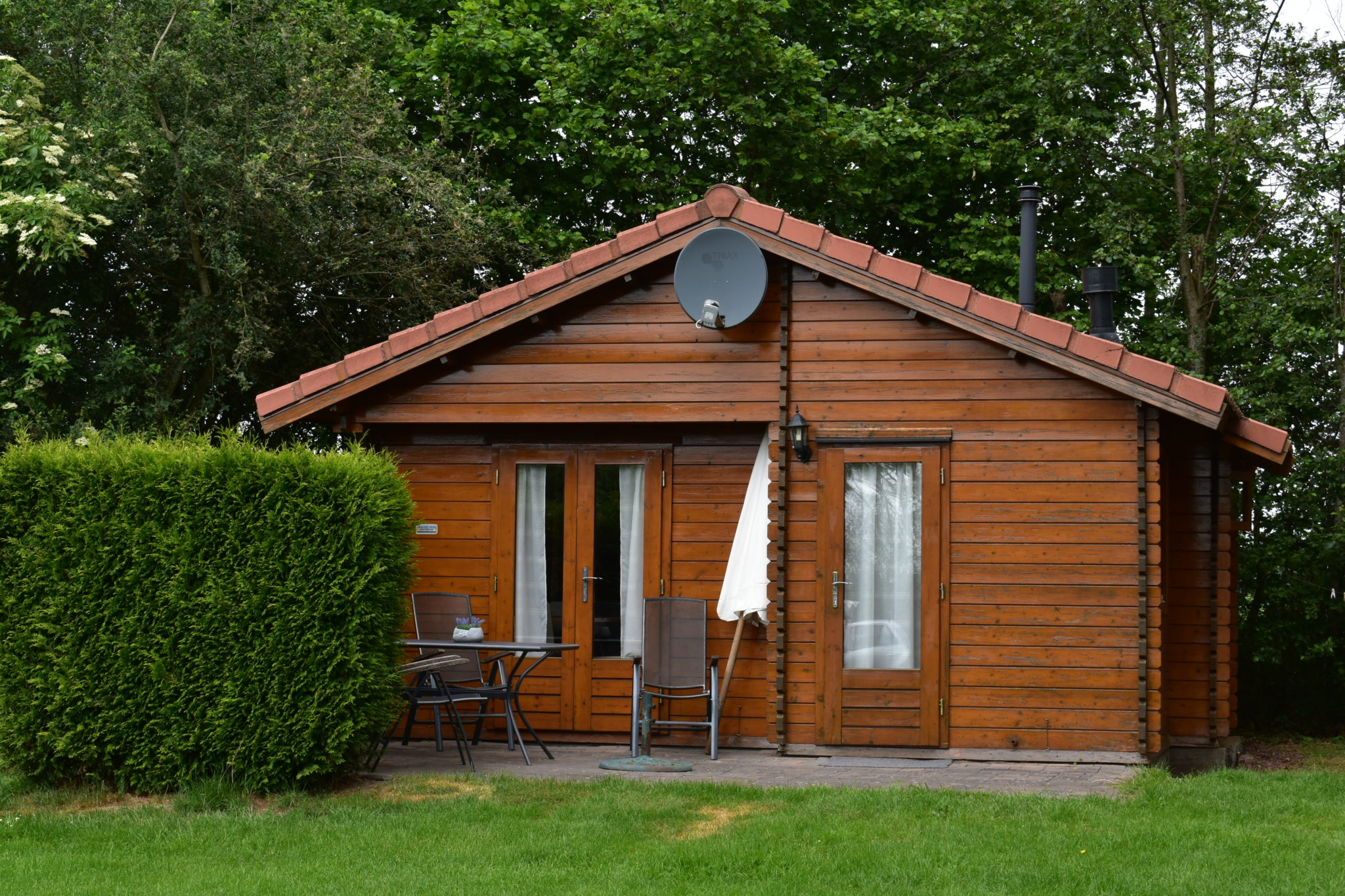 camping harminahoeve chalet